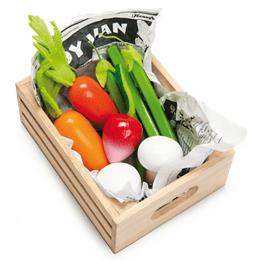 Le Toy Van, Grönsaker i trälåda