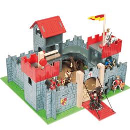 Le Toy Van, Riddarborg 3 torn, röd