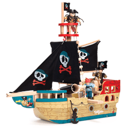 Le Toy Van, Piratskepp Jolly