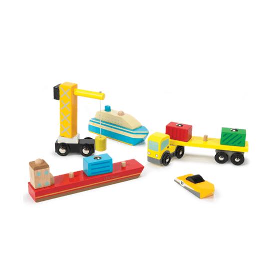 Le Toy Van, Hamnset i trä