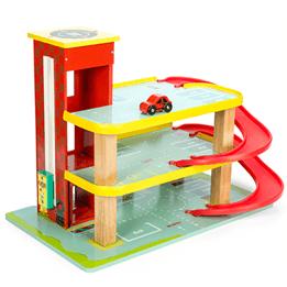 Le Toy Van, Garage Dinos Röda