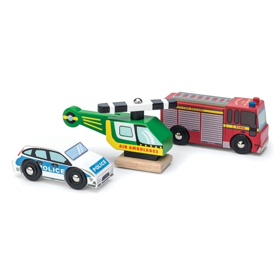 Le Toy Van, Bilar Utryckningsfordon