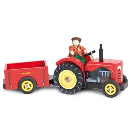 Le Toy Van, Traktor med Förare & Släp