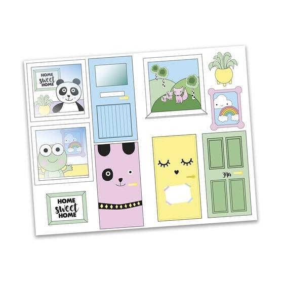 Lundby, Creative klistermärken, dörrar och fönster