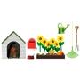 Lundby, Trädgårdsset och hundkoja