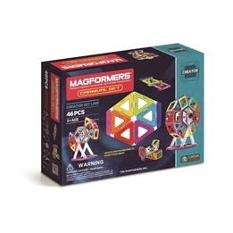 Magformers, 3005 Creator Carnival Set 46 st