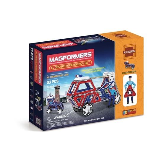 Magformers, XL Cruiser - Emergency 33-delar