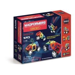 Magformers, Vehicle - Wow 16-delar