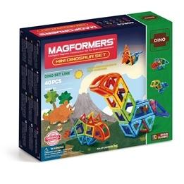 Magformers, 3032 Dino Mini Dinosaur Set 40 st