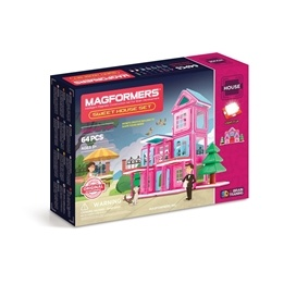 Magformers, House - Sweet House 64-delar