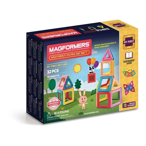 Magformers, My First Play 32 Set