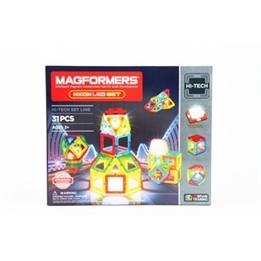 Magformers, Hi-tech - Neon LED 31-delar