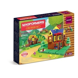 Magformers, House - Log House 87-delar