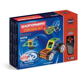 Magformers, Vehicle -Funny Wheel 20-delar