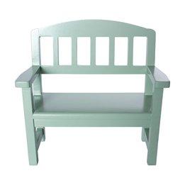 Maileg, Wooden Bench, Green