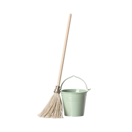 Maileg, Bucket & Mop