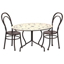 Maileg, Dining table set, Mini