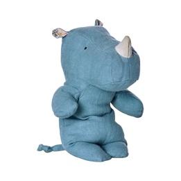 Maileg, Safari friends, Rhino Blue, Small