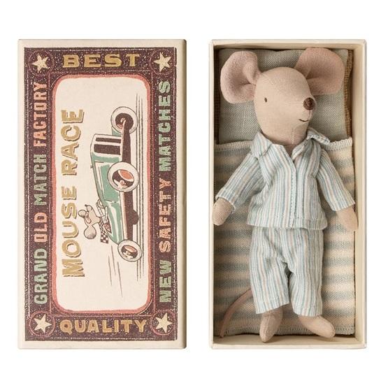 Maileg, Big brother mouse pyjamas in box