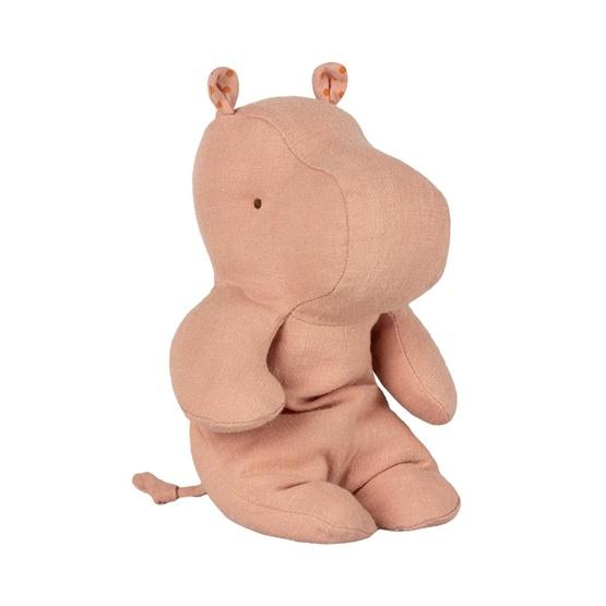 Maileg, Safari friends, Small hippo - Dusty rose