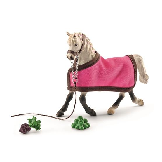 Schleich, Horse Club - Arabhäst sto med täcke
