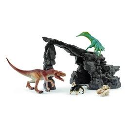 Schleich, Dino set med grotta