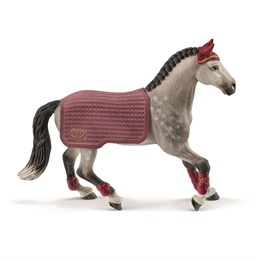 Schleich, Horse Club - Trakehner Mare Riding