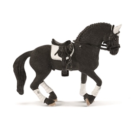 Schleich, Horse Club - Frisian Stallion Riding
