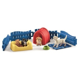 Schleich, Farm World - Puppy Pen