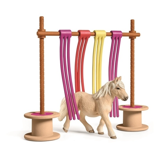 Schleich, Farm World - Pony Curtain Obstacle