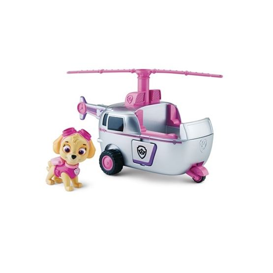 Paw Patrol, Basic vehicle with pup - Skye