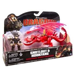 Draktränaren, Hookfang och Snotlout