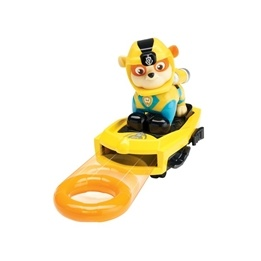 Paw Patrol, Sea Patrol Deluxe figure - Rubble
