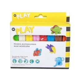 Martinex Play, Mjuk modellera 8 färger