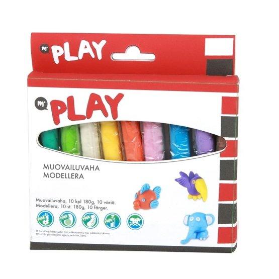 Martinex Play, Modellera 10 Färger