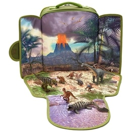 Mojo, Ryggsäck med lekplatta - Dinosaurier 8 st