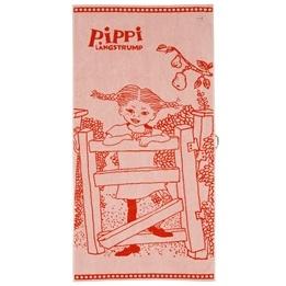 Pippi, Badhandduk Röd 70 x 140 cm