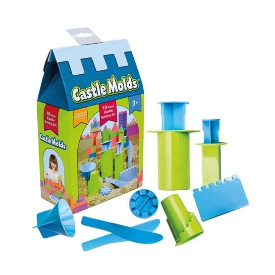 Castle Molds, Magisk Sand - Tillbehör slott 10 st verktyg