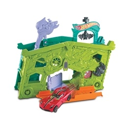 Hot Wheels, Fold out Playset - Ghost Garage