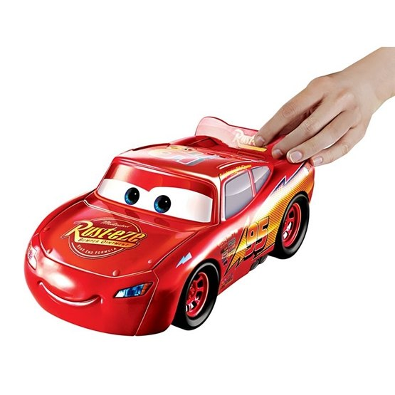 Disney Cars 3, Transforming Hero Playset - Blixten McQueen