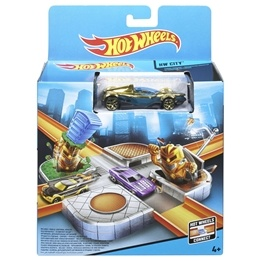 Hot Wheels Basic Playset - Cyborg Crossing Trackset
