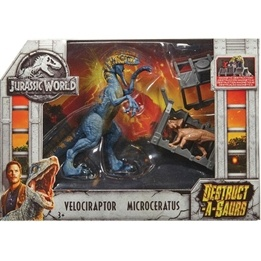 Jurassic World, Destructasaurs - Velociraptor & Microceratus