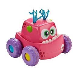 Fisher Price, Monster Trucks Press & Go - Rosa