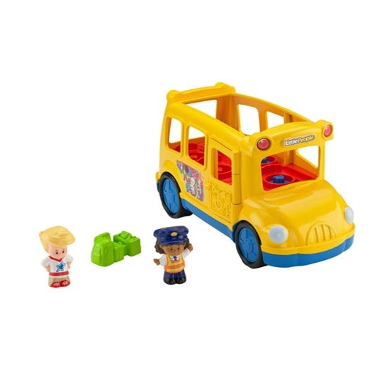 Fisher Price, Little People, Skolbuss