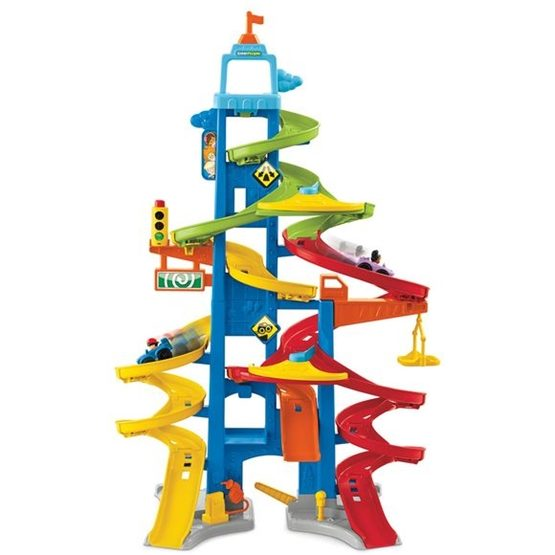 Fisher Price, Little People City Skyway Garage