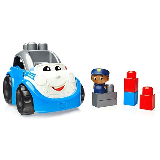 Fisher Price, Mega Bloks - First Builders Polisbil