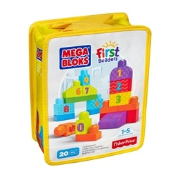 Fisher Price, Mega Bloks 20 st