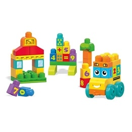 Fisher Price, Mega Bloks - 123 Learning Bus