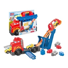 Fisher Price, Mega Bloks - Fast Track Racing Rig