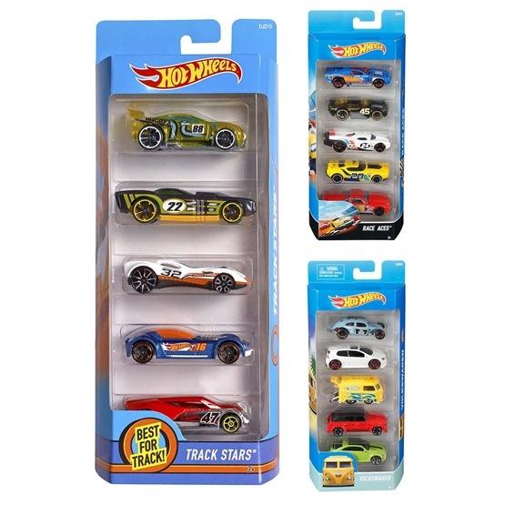 Hot Wheels, Basic 5-pack Bilar